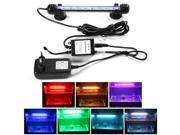 XCSOURCE®  Multi-color Remote Control RGB LED Underwater Submersible Aquarium LED Light Waterproof Fish Tank Lamp 18mm OS712