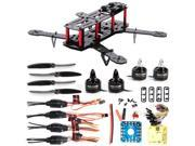 XCSOURCE DIY 4-Axis 3K Mini 250 Carbon Fiber Frame FPV Quadcopter Kit Combo CC3D Motor 12A ESC Propeller RC005