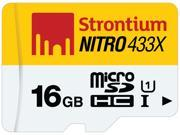 Strontium Nitro 433X 16GB MicroSDHC UHS-1 Memory Card
