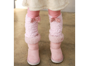 Soft and warm Pink kids Leggings toddler and girls