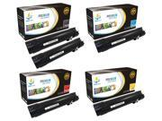 Catch Supplies 5 Pack Replacement Toner Cartridge Set for the Dell 5130 series (2 Black 330-5846, 1 Cyan 330-5850, 1 Magenta 330-5843, and 1 Yellow 330-5852 ) compatible with the Dell 5130CDN printers