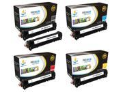 Catch Supplies Replacement HP 128A toner cartridge 5 pack set /2 Black CE320A, Cyan CE321A, Yellow CE322A, Magenta CE323A/ compatible with the HP LaserJet Pro C
