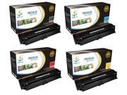 Catch Supplies Replacement HP 650A toner cartridge 4 pack set /1 Black CE270A, 1 Cyan CE271A, 1 Yellow CE272A, 1 Magenta CE273A / compatible with the HP Color L