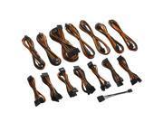 CableMod C-Series ModFlex Full Cable Kit for Corsair  RMi & RMx - Black / Orange