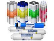 iSpring F28K75 3-Year Replacement Filter Set for 6-Stage Alkaline Reverse Osmosis Water Filter, Fits iSpring RCC7AK RCC7PAK 9SIAA6U3T10144