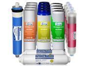 iSpring F19K75 2-Year Replacement Filter Set for 6-Stage Alkaline Reverse Osmosis Water Filter, Fits iSpring RCC7AK RCC7PAK 9SIAA6U3T09360