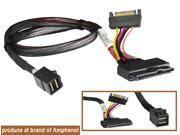 Mini SAS HD (SFF-8643) to U.2 (SFF-8639) Cable