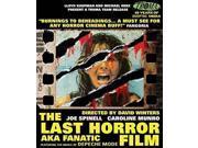 LAST HORROR FILM (AKA FANATIC) 9SIAA763VV8330