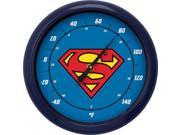 NJ CROCE - SUPERMAN LOGO 10 INCH OUTDOOR THERMOMETER 9SIAA764VT2067