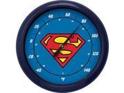 NJ CROCE - SUPERMAN LOGO 10 INCH OUTDOOR THERMOMETER 9SIAA764VT2067