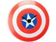 NJ Croce MARVEL Captain America Shield Clock N82E16886723004