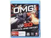Wwe: Omg! The Top 50 Incidents In Wwe History [Blu-ray] 9SIAA765801859