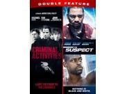 Criminal Activities / The Suspect Double Feature [DVD] 9SIAA765818904