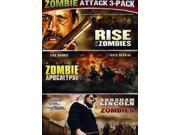Zombie Triple Feature - Abraham Lincoln V Zombies/Zombie Apocalypse/Rise O [DVD] 9SIAA765841751