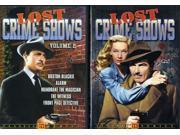 Lost Crime Shows, Vols. 1 & 2 [2 Discs] 9SIAA765871749