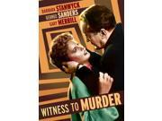 WITNESS TO MURDER 9SIAA765874362