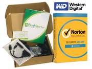 FreshStart Kit for Windows PCs – Complete automated hard drive replacement and Windows 10 upgrade for Desktop PCs: Windows 10 Home 64 Bit