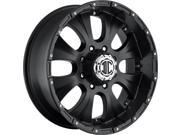 Image of Extreme NX-2 Satin Black 18x9 8x165.1 -12 offset 130.8