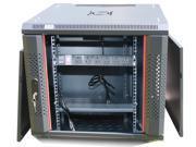 "12U Free Standing Server Rack Cabinet. Fits Most of Servers, ACCESSORIES FREE!! Cooling Fan, Shelf, 6-Way PDU, Fully Lockable 35"" Deep Network IT Server Rack Enclosure"