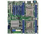 Original OEM ASRock Rack EP2C602 Dual LGA2011 Motherboard Intel C602 5x PCI-Express 3.0 x16 Slots