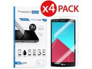 4 Pack Premium High Quality Real Tempered Glass Film Screen Protector for LG G4 9SIV19B6TH7261