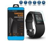 Premium Tempered Glass Screen Protector Guard for Fitbit Surge Smart Watch