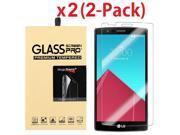 2-Pack Ultra Thin HD Premium Tempered Glass Screen Protector Film For LG G4 9SIAA7W6YU3260