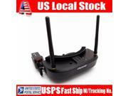 Black Eachine EV100 5.8G 72CH FPV Goggles 1000mAh Batterry for Quadcopter Drone