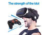 3D VR Glasses With Stereo Headset Bluetooth Gamepad Virtual Reality Headset New 9SIV19B7531028