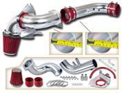 "3.5"""" Cold Air Intake Kit + Red Filter for 1996-2004 Ford Mustang GT 4.6 V8"" 9SIAA7W78G1471"