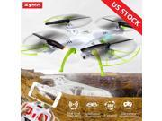 Syma X5HW FPV 4CH RC Quadcopter Drone with HD Wifi Camera Hover Function White 9SIV19B7533424