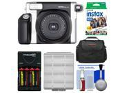 Fujifilm Instax Wide 300 Instant Film Camera with Film & Batteries & Charger Kit