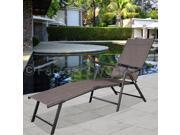 Pool Chaise Lounge Chair Recliner Outdoor Patio Furniture Adjustable New 9SIV19B7535710