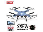 Syma X5HW FPV 4CH RC Quadcopter Drone with HD Wifi Camera Hover Function Blue 9SIAA7W78G2918