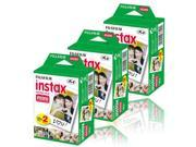 Fujifilm Instax Mini (3 Twin Pack) 60 shots Instant Film for 50s 7s 8 90 Camera