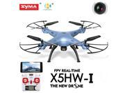 Syma X5HW-I FPV 4CH RC Quadcopter Drone with HD Wifi Camera Hover Function Blue 9SIV19B7533422