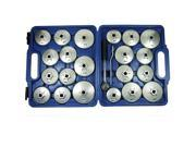 23PC Oil Filter Removal Wrench Cap Car Garage Tool Set Loosen Tighten Cup Socket 9SIAA7W79D8525