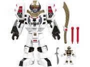 Fisher-Price Imaginext Power Rangers White Ranger & Warrior Mode Tigerzord 9SIV19B76D3289