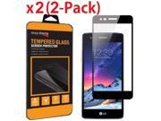 For LG Aristo/Fortune Full Screen Coverage Tempered Glass Screen Protector Guard 9SIV19B76G4772