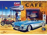 Masterpieces Route 66 Cafe Cruisin' Jigsaw Puzzle (1000Piece) 9SIAA7W7CW6669