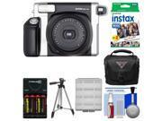 Fujifilm Instax Wide 300 Instant Film Camera with Film & Case & Battery/Chgr Kit
