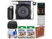 Fujifilm Instax Wide 300 Instant Film Camera with 40 Wide Twin Prints +Album Kit