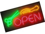 Ultra Bright LED Neon Animated Hair CUT Salon Open Sign for Business w/Power ... 9SIV19B7A19957