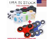 Magic Fidget Hand Finger Spinner Puzzle Cube Anti-Anxiety Adults Stress Relief