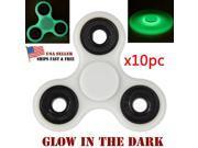 Wholesale 10x Glow Fidget Hand Spinner Ceramic Ball Desk Toy EDC Focus Stuffer