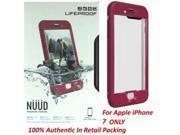 Authentic Lifeproof Nuud Waterproof Case Cover For iPhone 7 - Plum Reef Purple