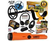 Garrett ACE 300 Metal Detector with Waterproof Search Coil and Pro-Pointer AT 9SIV19B7SG8428