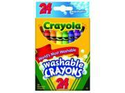 Crayola Washable Crayons, 24 count ( Case of 36 ) 9SIAA9A4F80944