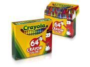 Crayola 64 Ct Crayons (52-0064) 2 PACK