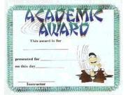 Academic Achievement Certificates